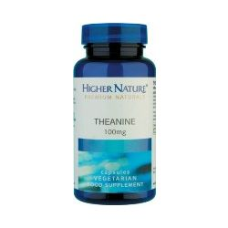 Higher Nature Theanine 60 capsules