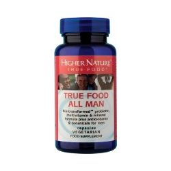 Higher Nature True Food All Man 90 capsules