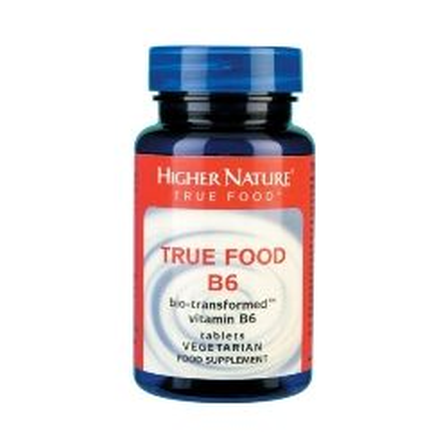 Higher Nature True Food Vitamin B6  90 tablets
