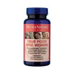 Higher Nature True Food® Wise Woman 30 capsules
