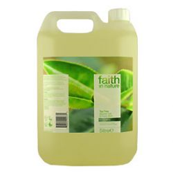 Faith in Nature Tea Tree Shower Gel & Foam Bath 5 litre