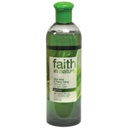 Faith in Nature Aloe Vera & Ylang Ylang Shower Gel & Foam Bath 400ml