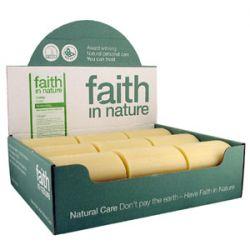 Faith in Nature Hemp Soap - box of 18 bars