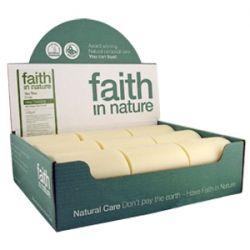 Faith in Nature Tea Tree Soap - box of 18 bars