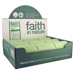Faith in Nature Aloe Vera Soap - box of 18 bars