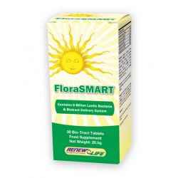 RENEW LIFE'S FLORASMART 8 BILLION 30's