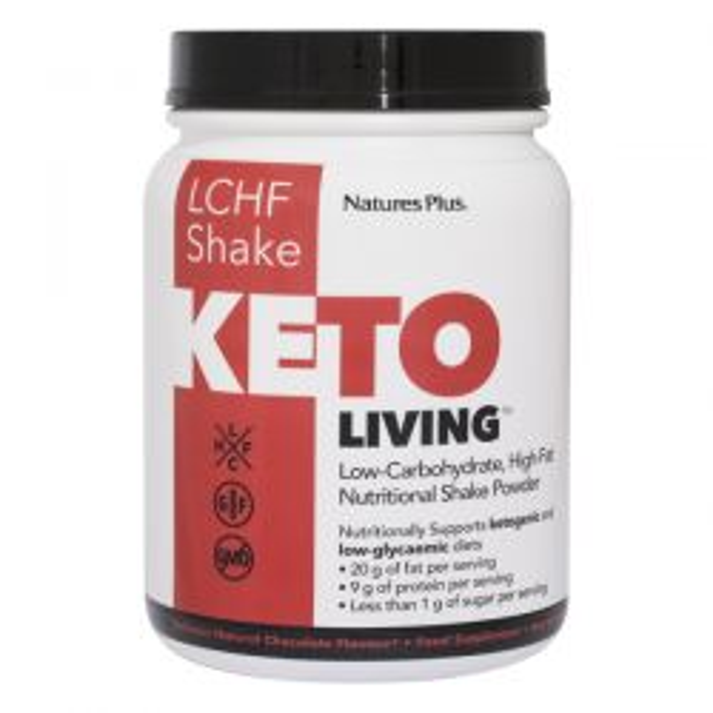 Nature's Plus KetoLiving LCHF Chocolate Shake 675g