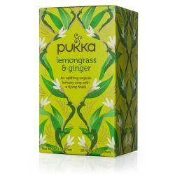 PUKKA LEMONGRASS & GINGER TEA 20 SACHETS