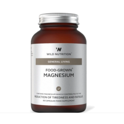 Wild Nutrition General Living Food-Grown Magnesium  60 caps