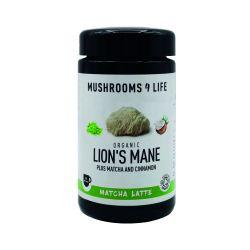 Mushrooms4Life Organic Lion's Mane Matcha Latte 110g