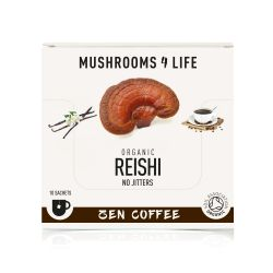 Mushrooms4Life Organic Reishi - Zen Coffee Sachets 10 x 3.2g