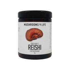 Mushrooms4Life Organic Reishi Powder - Amber Glass 60g