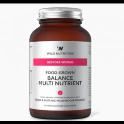 Wild Nutrition Bespoke Woman Food-Grown Daily Multi Nutrient 60 caps
