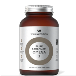Wild Nutrition General Living Pure Strength Omega 3 120 caps