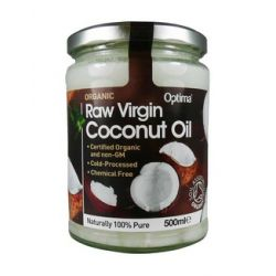 Optima Organic Raw Virgin Coconut Oil 500ml