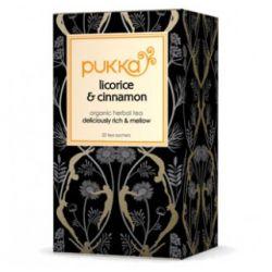 PUKKA LICORICE & CINNAMON TEA 20 SACHETS