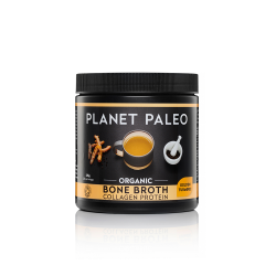 Planet Paleo Organic Bone Broth Collagen Protein - Golden Turmeric 225g