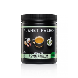 Planet Paleo Organic Bone Broth Collagen Protein - Herbal Defence 450g