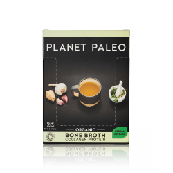 Planet Paleo Organic Bone Broth Collagen Protein - Herbal Defence Sachets 10Sach