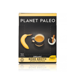 Planet Paleo Organic Bone Broth Protein Powder (Vanilla & Banana) Sachets 10Sach