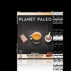 Planet Paleo Organic Bone Broth Protein Powder (Chocolate) Sachets 10Sach