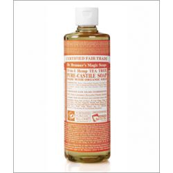 Dr. Bronner's Tea Tree Liquid Soap 472ml