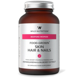 Wild Nutrition Bespoke Woman Food-Grown Skin Hair & Nails 60 caps
