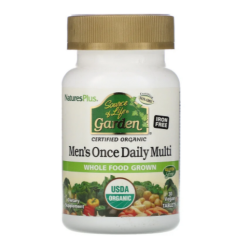 Nature's Plus Source of Life GARDEN ORGANIC MENS DAILY TAB 30