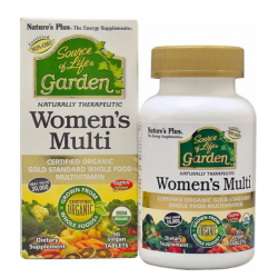Nature's Plus Source of Life GARDEN ORGANIC WOMENS MULTI TAB 90