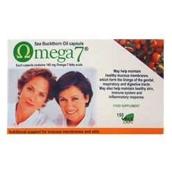 Pharma Nord  Omega 7 Sea Buckthorn Oil Capsules 150's