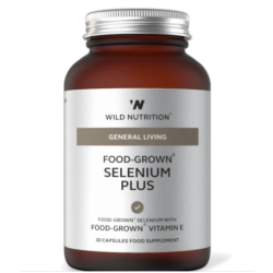 Wild Nutrition General Living Food-Grown Selenium Plus 30 caps