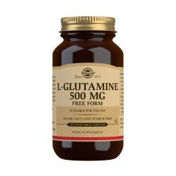 Solgar L-Glutamine 500 mg Vegetable Capsules - Pack of 250