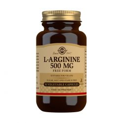 Solgar L-Arginine 500 mg Vegetable Capsules - Pack of 50