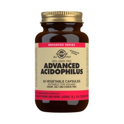Solgar Advanced Acidophilus Vegetable Capsules - Pack of 50