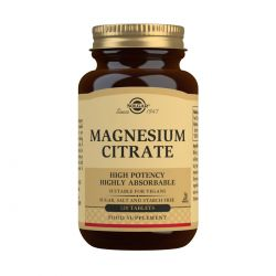 Solgar Magnesium Citrate Tablets - Pack of 120