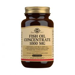 Solgar Fish Oil Concentrate 1000 mg Softgels - Pack of 60