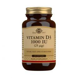 Solgar Vitamin D3 1000 IU (25