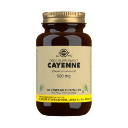 Solgar Cayenne 520 mg Vegetable Capsules - Pack of 100