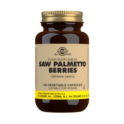 Solgar Saw Palmetto Berries Vegetable Capsules - Pack of 100