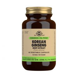 Solgar Korean Ginseng Root Extract Vegetable Capsules - Pack of 60