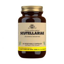 Solgar Scutellariae Vegetable Capsules - Pack of 50
