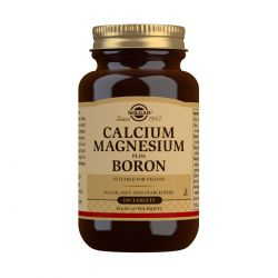 Solgar Calcium Magnesium Plus Boron Tablets - Pack of 100