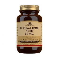 Solgar Alpha-Lipoic Acid 60 mg Vegetable Capsules - Pack of 30