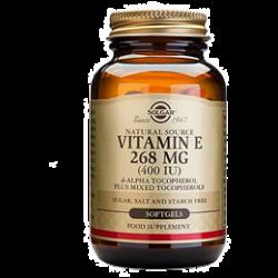 Solgar Vitamin E 400 IU Mixed Softgels 100's