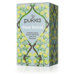 PUKKA THREE FENNEL TEA 20 SACHETS