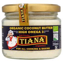 Tiana High Omega 3 organic coconut butter 250g