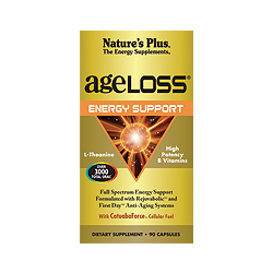 Nature's Plus Ageloss Energy Support 90 capsules