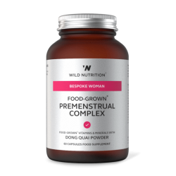 Wild Nutrition Bespoke Woman Food-Grown Premenstrual Complex 60 caps