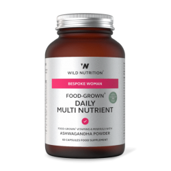 Wild Nutrition Food-Grown Woman's Daily Multi Nutrient 60 caps