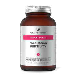 Wild Nutrition Woman's Food-Grown Fertility 60 caps
